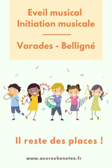 Eveil musical et initiation musicale à Loireauxence : ça reprend bientôt !