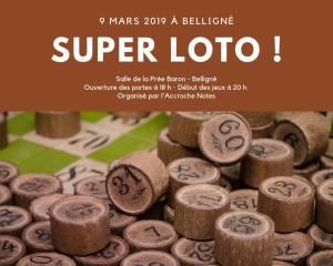 loto 9 mars 2019 Belligné