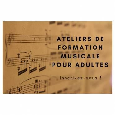 Ateliers de formation musicale pour adultes