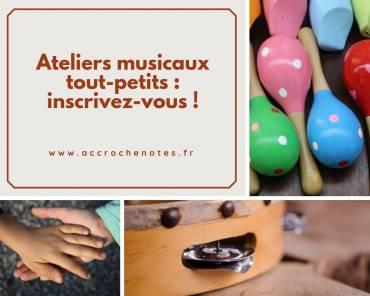 Activités musicales pour les tout-petits à Loireauxence : inscrivez-vous !