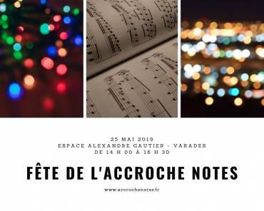 Fête de l'Accroche Notes, le 25 mai à Varades
