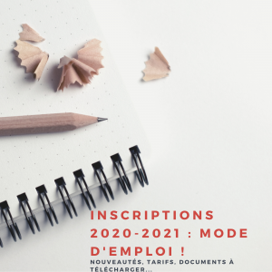 Inscriptions accroche notes 2020-2021